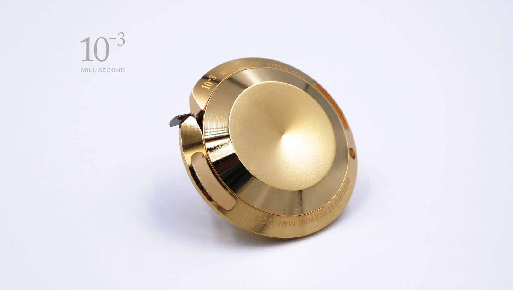 MiLLiSECOND Metal Major S24K Gold Plated